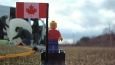 The two 17-year-old Agincourt Collegiate Institute students completed their year-long mission two weeks ago, successfully sending a balloon carrying a Lego man and a small Canadian flag out of earth's atmosphere.
