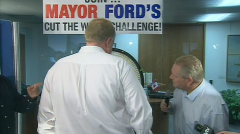 Mayor Rob Ford tipped the scales at 314 lbs. on Monday, Jan. 30, 2012.