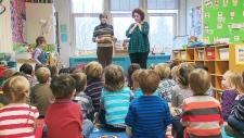 Kindergarten classrooms