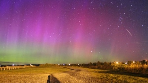 MyNews user Erica Pothier sent in this image of the Northern Lights from Port Maitland Beach in Nova Scotia.
