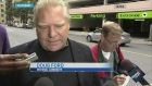Doug Ford speaking to reporters