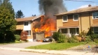 CTV Toronto: Three homes gutted by fire