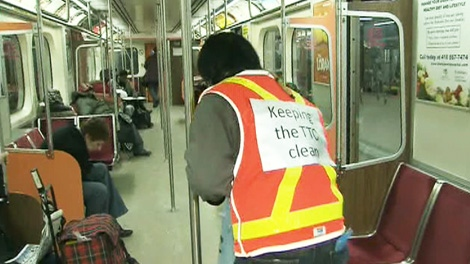 TTC, clean-up, cleaning, Byford, Toronto, Stintz, subway