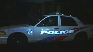 Police hunt for suspect after contractor robbed while working in North York