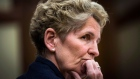 Ontario Premier Kathleen Wynne speaks at the hearings into the gas plant cancellations at Queen's Park in Toronto, Tuesday, December 3, 2013. (Mark Blinch / THE CANADIAN PRESS)