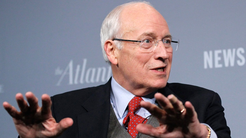 Former Vice President Dick Cheney addresses the third annual Washington Ideas Forum at the Newseum in Washington, Thursday Oct. 6, 2011.(AP / Manuel Balce Ceneta)