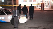 The scene were Jamal Roache, 26, was shot in the Keele Street and Sheppard Avenue area on Thursday, Oct. 30, 2014.