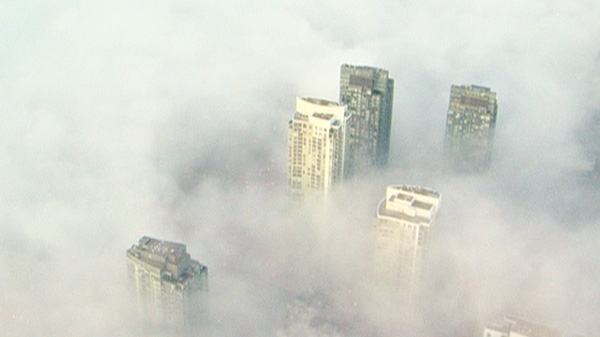 Parts of the GTA are under a special weather statement of potential dense fog, Tuesday. March 20, 2012.