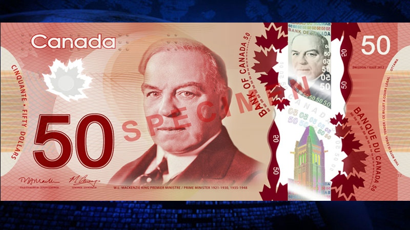 This new polymer $50 bill is set to enter circulation across Canada.
