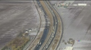 Black ice forced police to shut down Highway 400 f