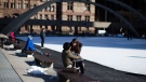 The City of Toronto is opening 16 outdoor rinks over the weekend, marking the unofficial start to the winter sports season. (Chris Young / THE CANADIAN PRESS)