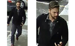 Police in Richmond Hill are seeking this suspect in connection with a sexual assault and shoe thefts.
