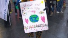 Students march for Ebola awareness