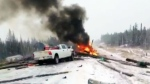 CTV Edmonton: Weather causes havoc on highways