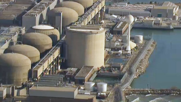 Leak reported at Pickering nuclear plant
