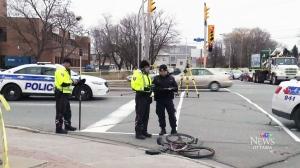 CTV Ottawa: Cyclist struck and killed