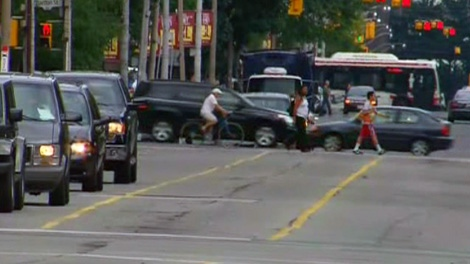 A legal battle is simmering between the city and cyclists over bike lanes removed from Jarvis Street.