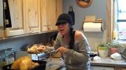 Canada AM: 'Mom, it's a baby turkey'