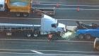 Crash closes QEW lanes in Oakville