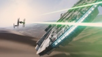 """In this image released by Disney, a scene is shown from the upcoming film, """"Star Wars: The Force Awakens,"""" expected in theaters on Dec. 18, 2015. (LucasFilm, Disney)"""