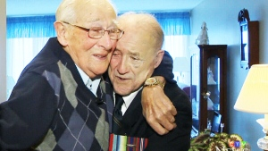 Friends reunite for first time WWII
