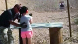 <b> 9-year-old girl accidentally shoots, kills gun instructor</b><br><br> 
