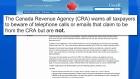 CTV Toronto: 'Revenue Canada' email a scam