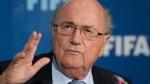 FIFA president Sepp Blatter in Marrakech, Morocco, on Dec. 19, 2014. (AP / Christophe Ena)