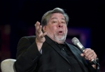 In this file photo, Apple co-founder Steve Wozniak delivers a speech during a conference in the framework of the Technological Festival of Mexico, in Mexico City on July 4, 2013. (AP / Ronaldo Schemidt)
