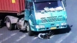 Caught on Cam: Cyclist survives being hit