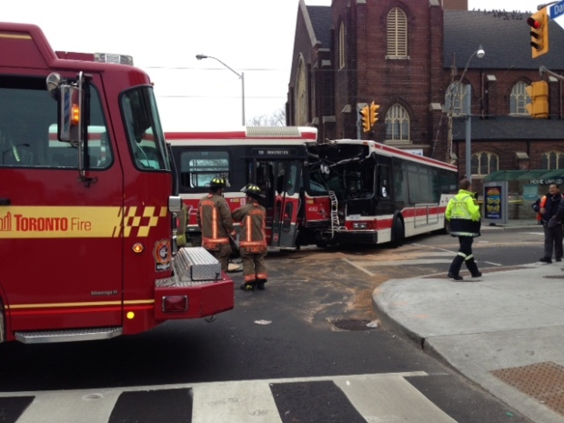 TTC crash
