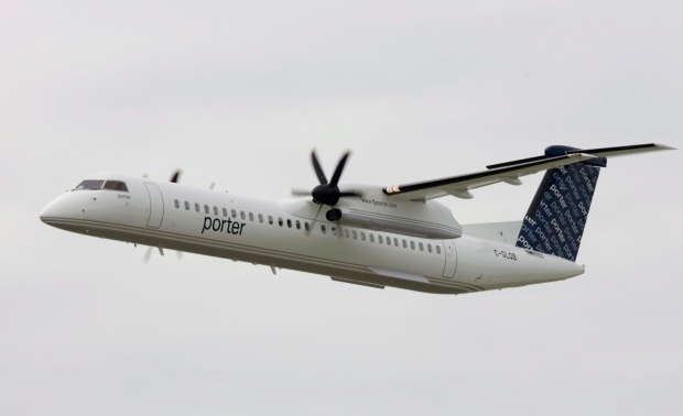 Two hurt in mid-flight as Porter Airlines plane evades suspected drone