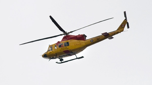 Officials at the CFB Trenton Joint Rescue Co-ordination Centre search for a four-seater airplane that went missing last Monday near Hastings, Ont., on Thursday, May 10, 2012. (Image courtesy of Northumberland News)