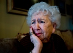 Miriam Friedman Ziegler, 79, an Auschwitz holocaust survivor, tells her story at her home in Thornhill, Ont., on Monday, Jan. 19, 2015. (Nathan Denette / THE CANADIAN PRESS)