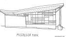 A sketch of the McGregor Park Library is shown. (Daniel Rotsztain)