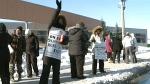 CTV Kitchener: CCAC workers on strike