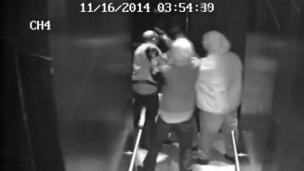 Toronto police have released security footage that shows the moments before a man was fatally shot, hoping someone can help identify those in the video.