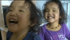 Twin girls waiting for liver transplant