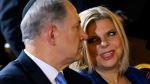 Benjamin Netanyahu and his wife Sara in Rome, on Dec. 1, 2013. (AP / Riccardo De Luca)