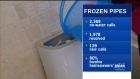 Update on city's effort to repair frozen pipes