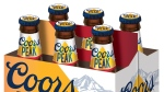 Coors Peak gluten-free beer is pictured. (Photo from Coors)