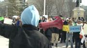 CTV Toronto: Everest College demonstration