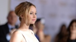 Actress Jennifer Lawrence is pictured. (AFP PHOTO / ROBYN BECK)