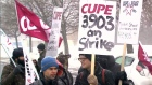 CTV Toronto: TAs walk off the job at universities