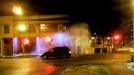CTV Montreal: Geyser at water main break