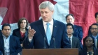 LIVE NOW: Harper speaks in east-end Toronto