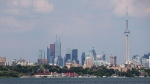 Toronto's skyline is pictured on Wednesday, July 17, 2013. (THE CANADIAN PRESS/Michelle Siu)