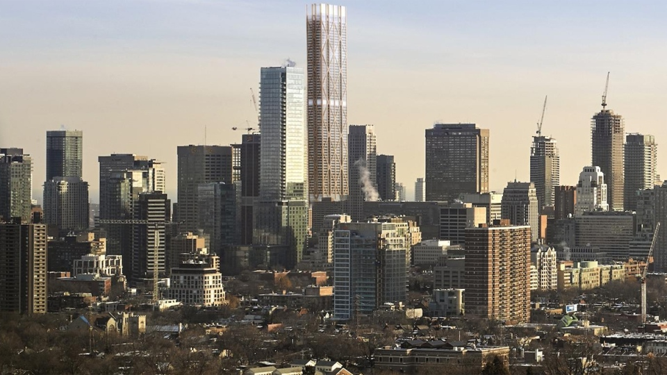 a description of tall stories the skyline of downtown toronto Toronto has been ranked one of the 10 cities with the most skyscrapers in   definition of a skyscraper: a building that's at least 100 metres tall.