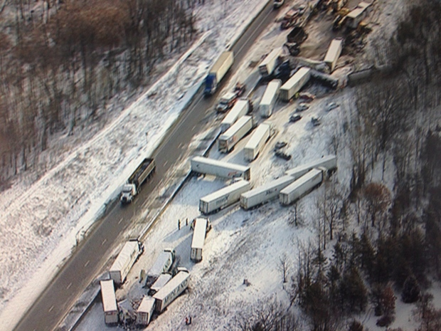 401 crash near Belleville