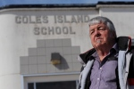 Steve McCready is shown at Coles Island School in Coles Island, N.B., on Tuesday, March 24, 2015. (Stephen MacGillivray / THE CANADIAN PRESS)